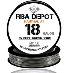 18 Gauge AWG Premium Kanthal Wire Alloy A1 Resistance Wire 1.02mm Roll - RBA Depot - 3