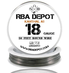 18 Gauge AWG Premium Kanthal Wire Alloy A1 Resistance Wire 1.02mm Roll - RBA Depot - 2