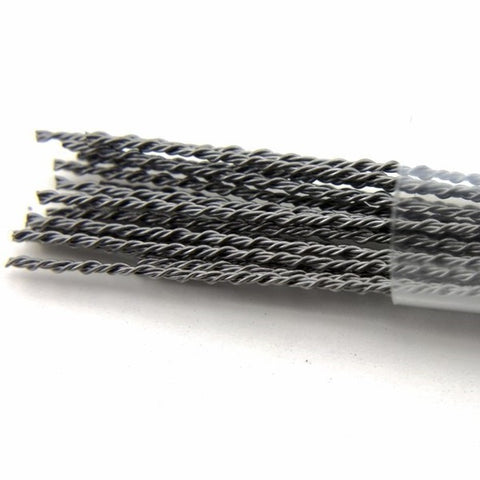 Specialty Wire - Premium Hive Wire Rod  [Kanthal 30 Gauge + Kanthal 30 Gauge *2] (10 Pcs)
