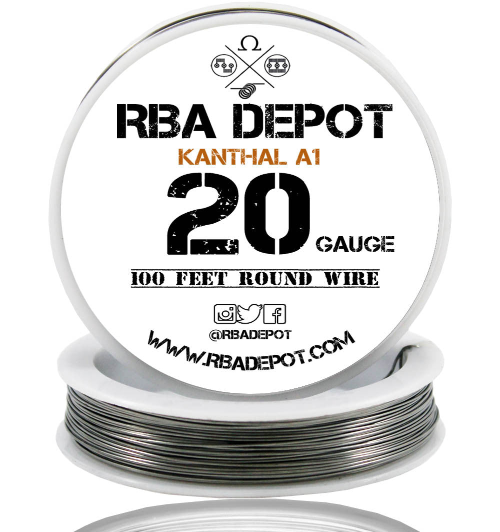 26 awg wire resistance per foot wire center 20 gauge awg premium kanthal wire a1 resistance wire 0 81mm roll rh rbadepot com wire gauge resistance per foot wire resistance calculator greentooth Images