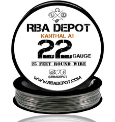 22 Gauge AWG Premium Kanthal Wire A1 Alloy Resistance Wire 0.64mm Roll - RBA Depot - 5