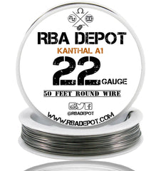 22 Gauge AWG Premium Kanthal Wire A1 Alloy Resistance Wire 0.64mm Roll - RBA Depot - 2