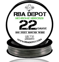 22 Gauge AWG Nichrome 80 Ni80Cr20 Competition Resistance Wire - RBA Depot - 3