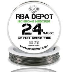 24 Gauge AWG Nichrome 80 Ni80Cr20 Competition Resistance Wire - RBA Depot - 4
