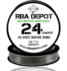 24 Gauge AWG Nichrome 80 Ni80Cr20 Competition Resistance Wire - RBA Depot - 3
