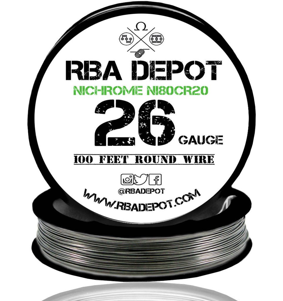 26 Gauge AWG Nichrome 80 Ni80Cr20 Competition Resistance Wire Roll - RBA Depot - 2