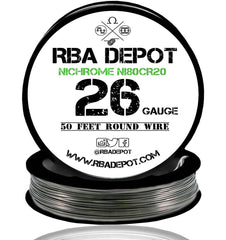 26 Gauge AWG Nichrome 80 Ni80Cr20 Competition Resistance Wire Roll - RBA Depot - 3