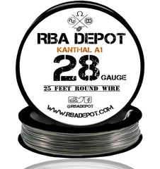 28 Gauge AWG Premium Kanthal Wire A1 Resistance Wire 0.32mm Roll - RBA Depot - 5
