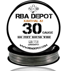 30 Gauge AWG Premium Kanthal Wire Alloy A1 Resistance Wire 0.25mm Roll - RBA Depot - 3