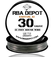 30 Gauge AWG Premium Kanthal Wire Alloy A1 Resistance Wire 0.25mm Roll - RBA Depot - 5