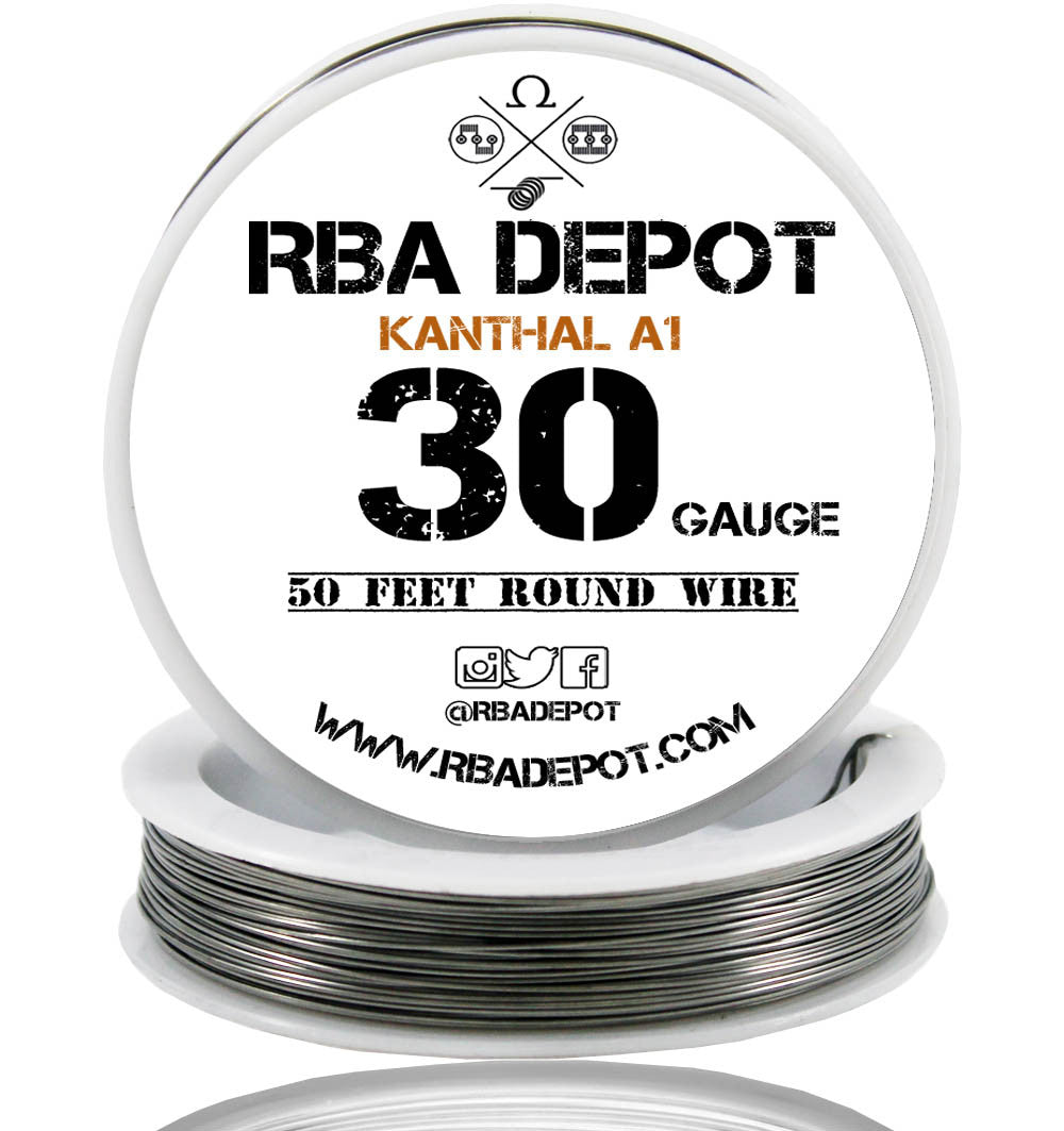 30 gauge awg premium kanthal wire alloy a1 resistance wire 025mm 30 gauge awg premium kanthal wire alloy a1 resistance wire 025mm roll rba depot greentooth Choice Image