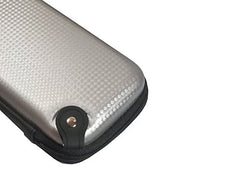 Silver Carbon Fiber Design Pattern Hard Carrying Case for Mods and Accessories - RBA Depot - 1