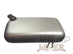 Silver Carbon Fiber Design Pattern Hard Carrying Case for Mods and Accessories - RBA Depot - 3