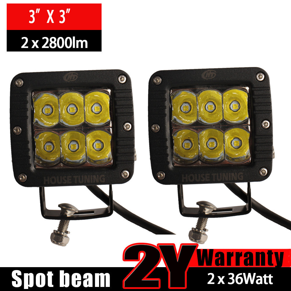 Tremendous House Tuning 30W 3X3 Cube Led Lights Spot Beam Cree Led Pod Light Wiring 101 Capemaxxcnl