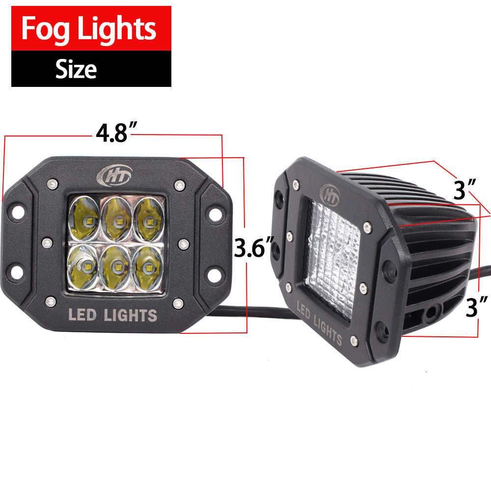cree offroad light beam tuning truck products jeep led of for flush set backup house mount suv reverse lighting lights spot