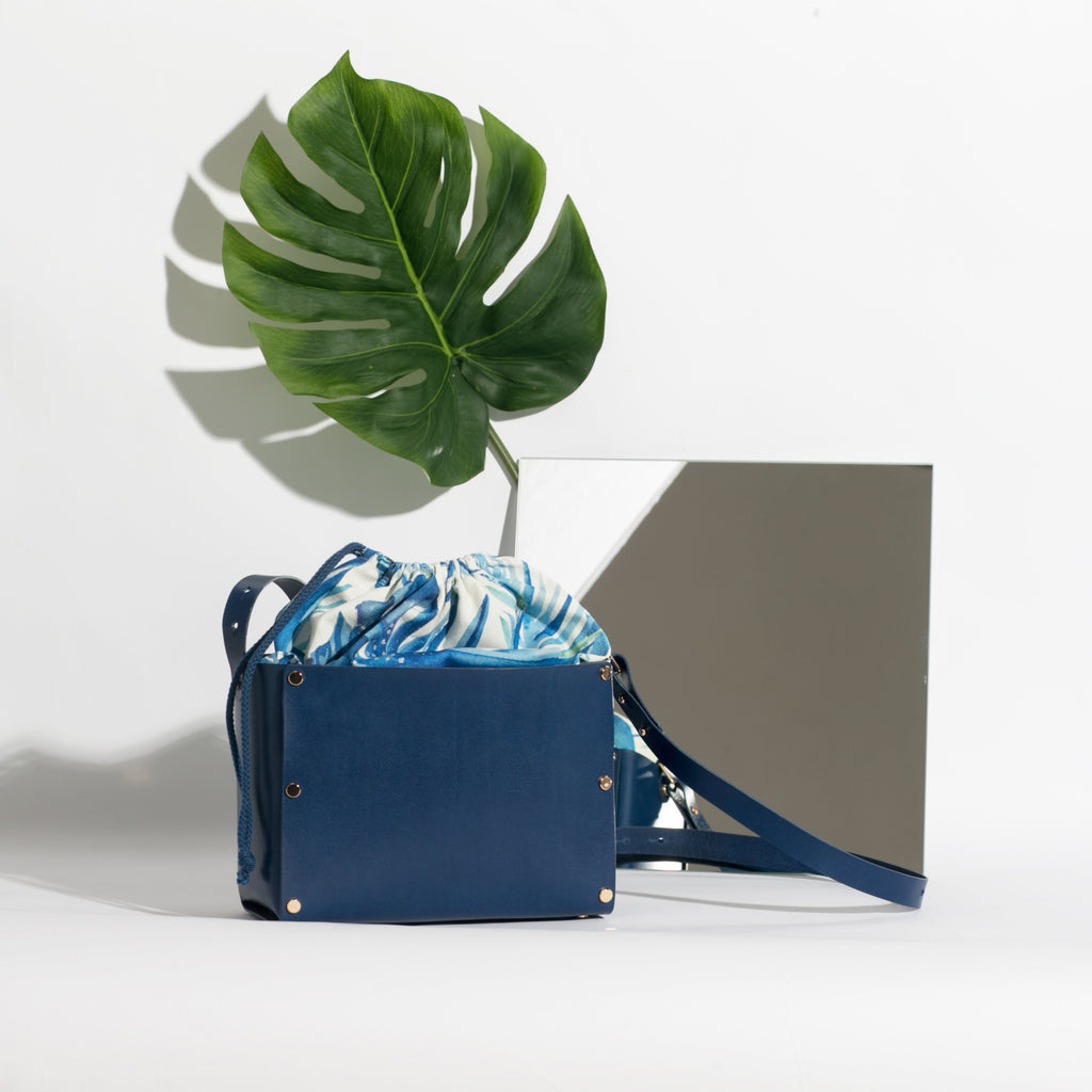 Havana Box Bag | Marine Blue