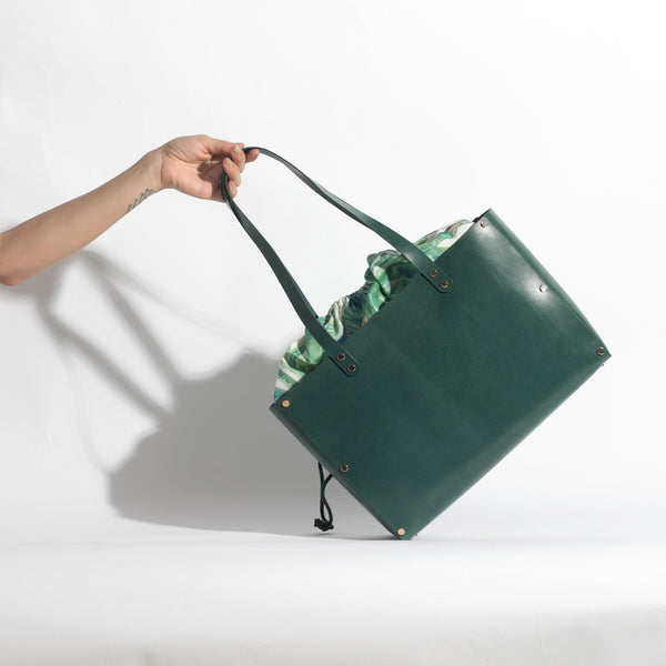 Havana Tote Bag | Agave Green