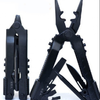 Multi-use multi-function pliers 8-in-1 car camping Survival gear -  420 stainless steelPortable Survival gear - black