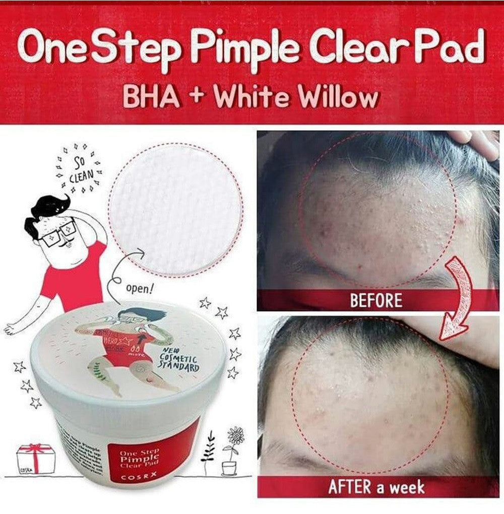 Cosrx One Step Pimple Clear Pad - HallYu Cosmetics - 2