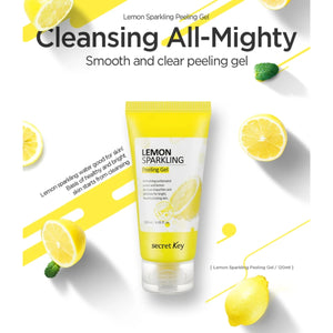 Secret Key Lemon Sparkling Peeling Gel 120 ml