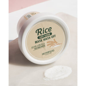 Skinfood Rice Soft Scrub Mask Wash Off 100g