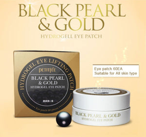 Petitfee Black Pearl & Gold Hydrogel Eye Patches