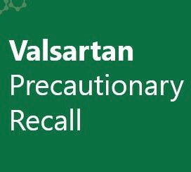 Heart medication Valsartan recall