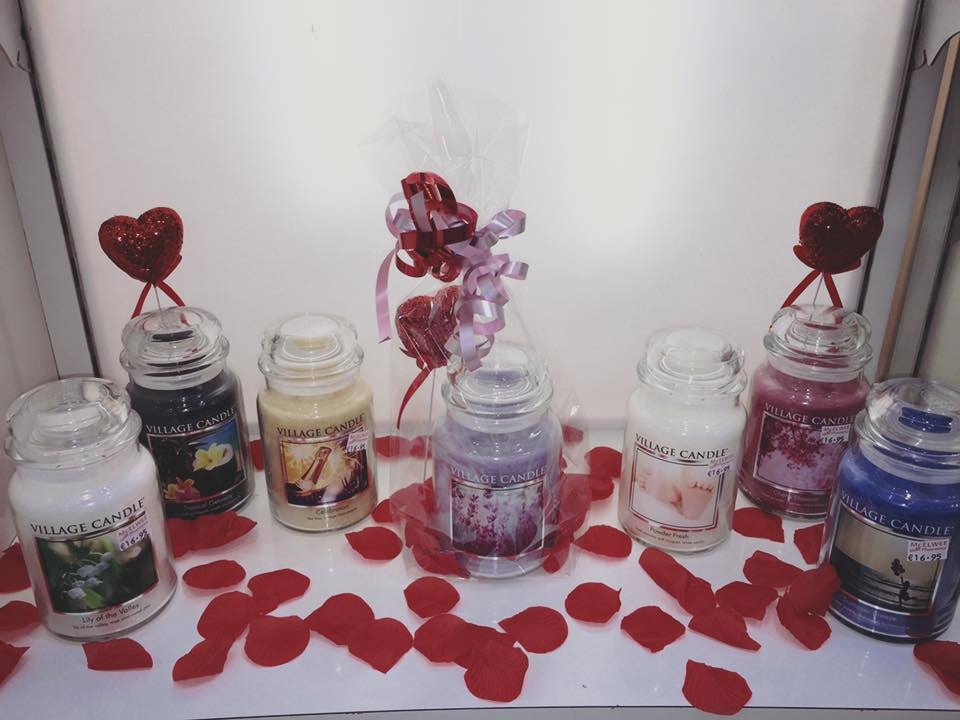 New Village Candle Stock now in at McElwee Pharmacies