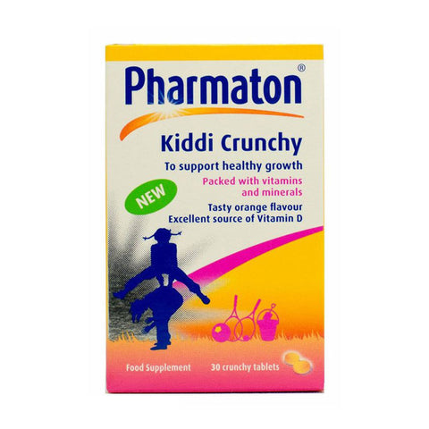 Pharmaton Kiddi Crunch 30 tablets