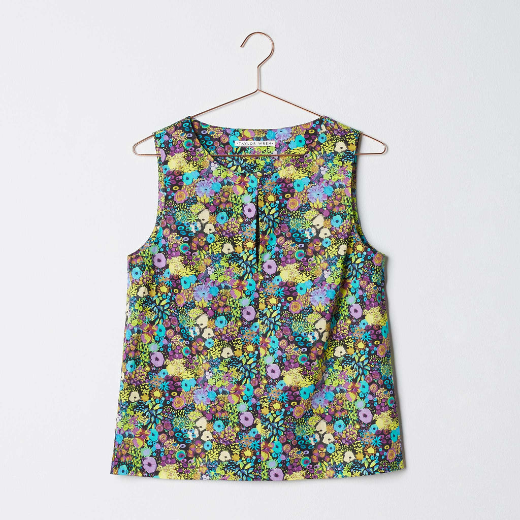 Taylor Wren | Agnes Shell Top | Front