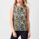 Taylor Wren | Agnes Shell Top | Model Front Crop