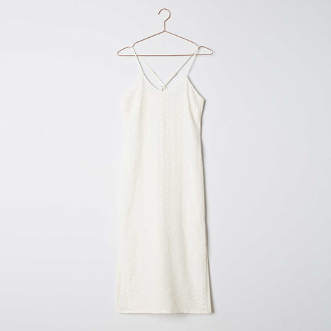 Taylor Wren | Bethany Silk Slip Dress | Front