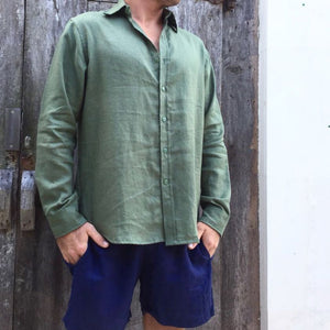 Charles Linen Shirt - Long Sleeved