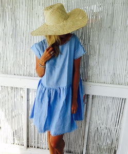 The Grace Dress - Pale Blue