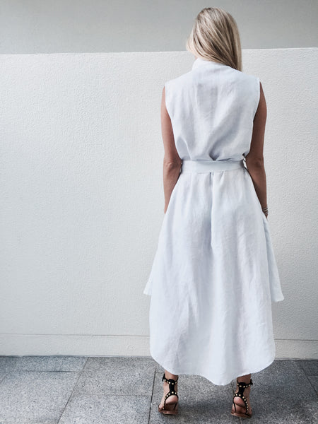 Charlie Wrap Dress - LINEN