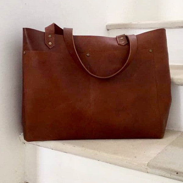 Leather Raffa Tote