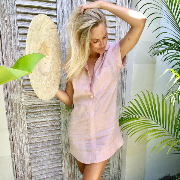 Midtown Dress - Dust Pink