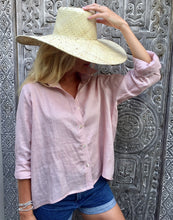 Load image into Gallery viewer, Lizzie Linen Shirt - Dust Pink