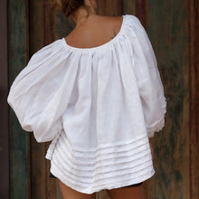 Load image into Gallery viewer, Amalfi Linen Smock Top