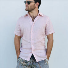 Load image into Gallery viewer, Jack Linen Shirt - Short Sleeve