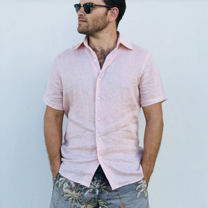 Jack Linen Shirt - Short Sleeve