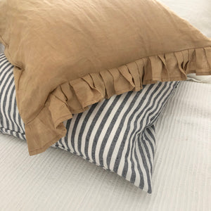 Standard 100% Linen Pillow Case Set