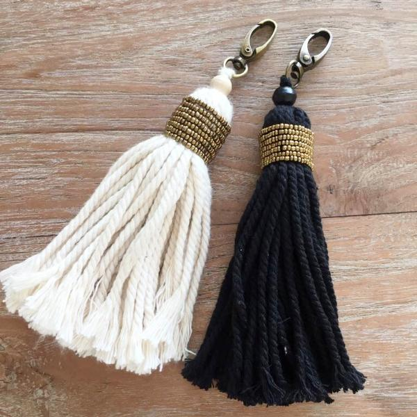 Ethnic Beaded Keyring