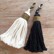 Load image into Gallery viewer, Ethnic Beaded Keyring