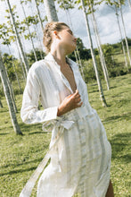 Load image into Gallery viewer, Dom Shirt Dress - Linen