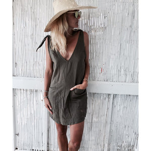 Drifter Dress - Khaki