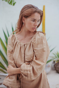 Amalfi Smock Dress
