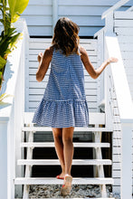 Load image into Gallery viewer, Annie Dress - Navy Gingham