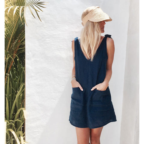 Drifter Dress - Navy
