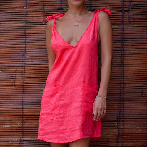 Drifter Dress - Raspbery OR Pink